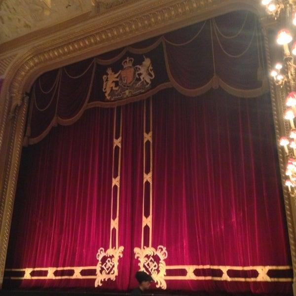 Photo taken at Royal Opera House by Takeshi I. on 3/5/2013