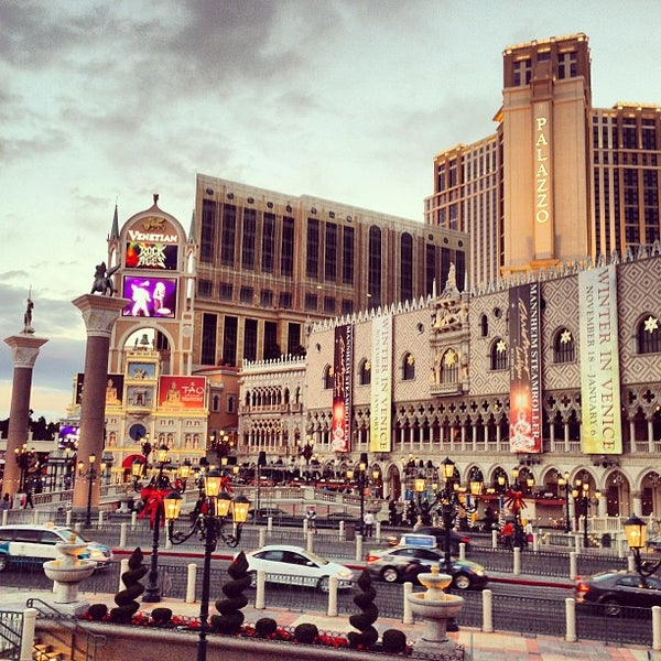 Photo taken at The Las Vegas Strip by Luis A. on 12/19/2012