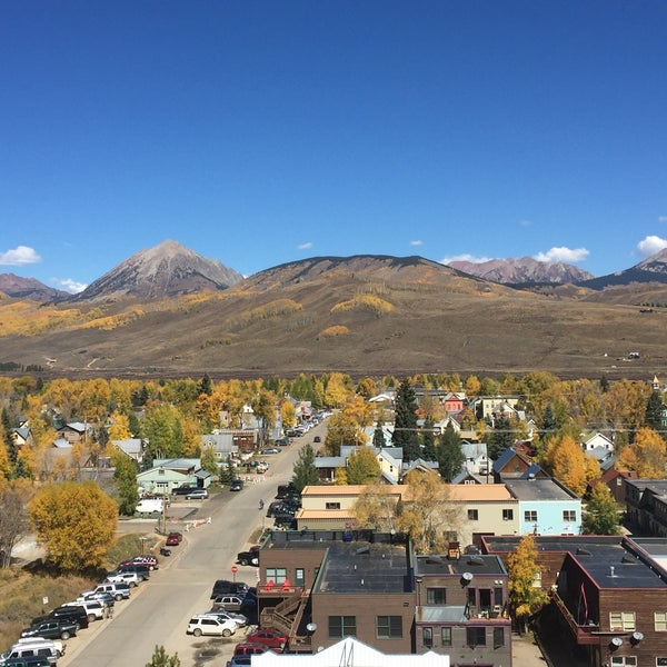 Photo taken at Crested Butte, CO by Victor V. on 9/28/2016