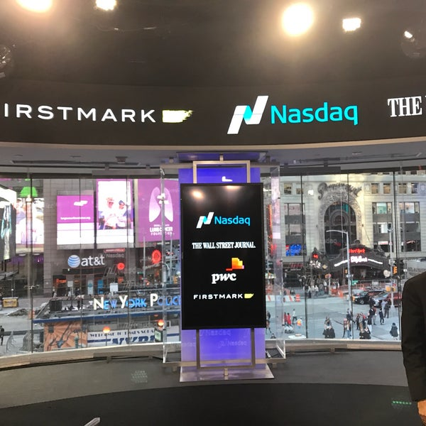Photo taken at Nasdaq Marketsite by Rick H. on 11/1/2016