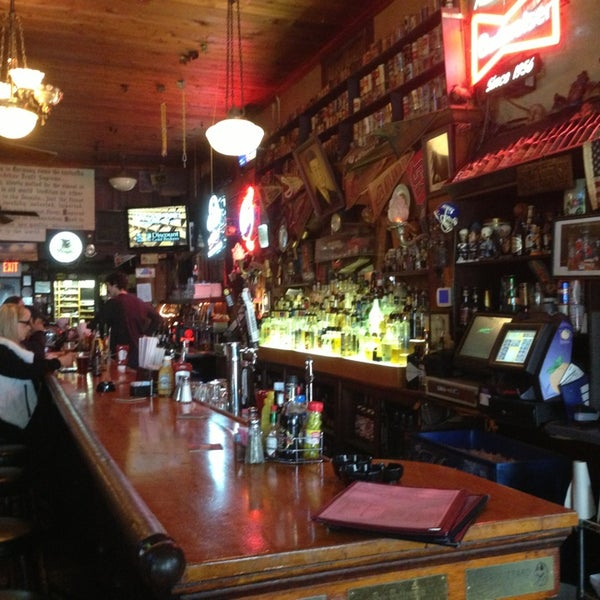 Photo taken at Manuel's Tavern by Yawei L. on 2/18/2013