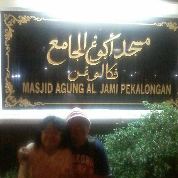 Photo taken at Masjid Jami' Kauman Pekalongan by Didit Y. on 6/9/2013