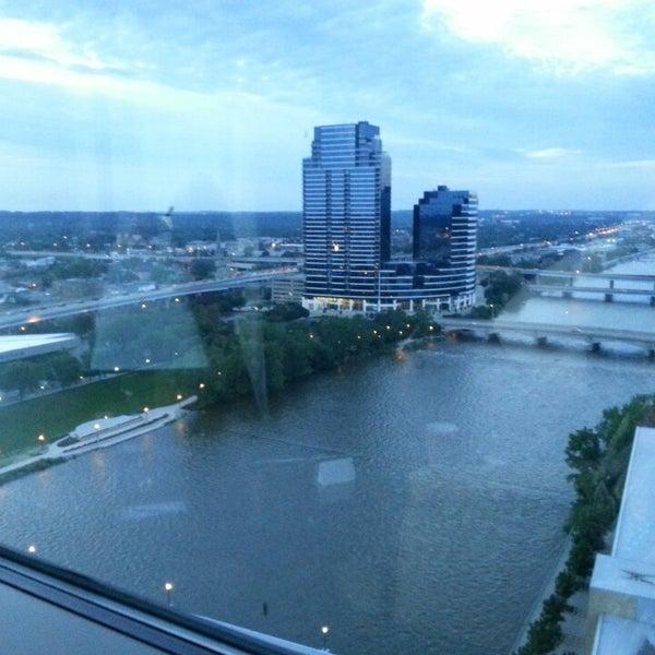 Photo taken at Amway Grand Plaza Hotel by Amby B. on 6/16/2013