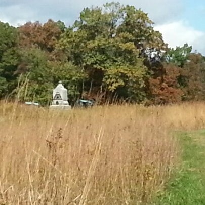 Photo taken at Wheatfield, Gettysburg Battlefield by Jenny S. on 10/12/2012