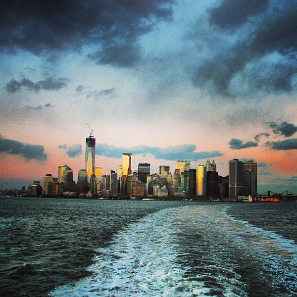Photo taken at Staten Island Ferry Boat - Guy V. Molinari by Māris R. on 1/26/2013