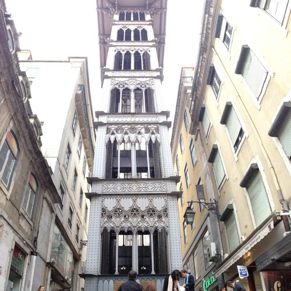 Photo taken at Elevador de Santa Justa by Daniel S. on 12/31/2012