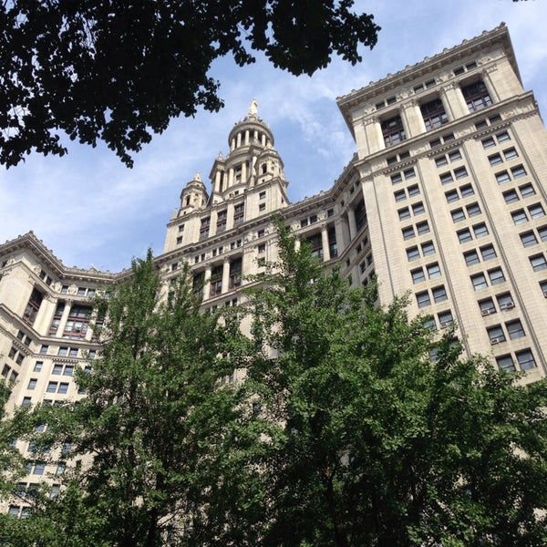 Photo taken at NYC Municipal Building by William W. on 6/26/2013