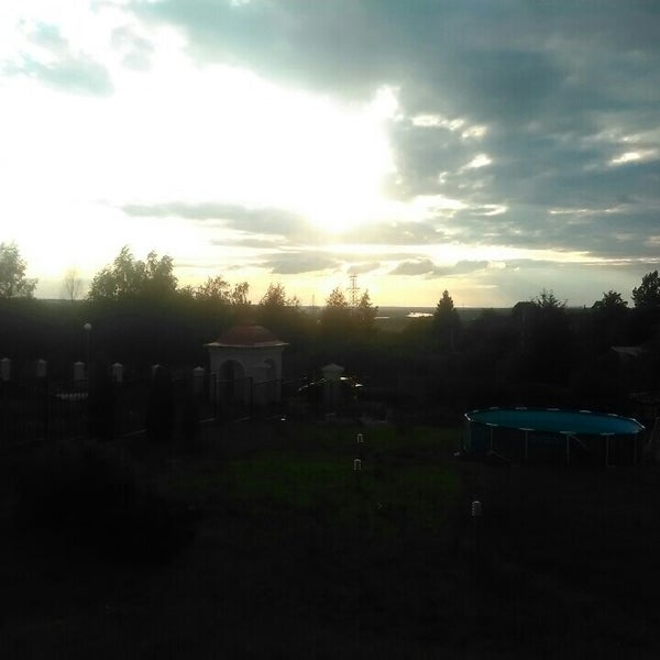 Photo taken at Пущино by Макс Е. on 5/30/2015