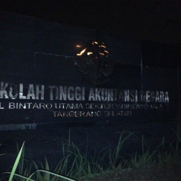 Photo taken at Sekolah Tinggi Akuntansi Negara (STAN) by jung w. on 6/28/2015