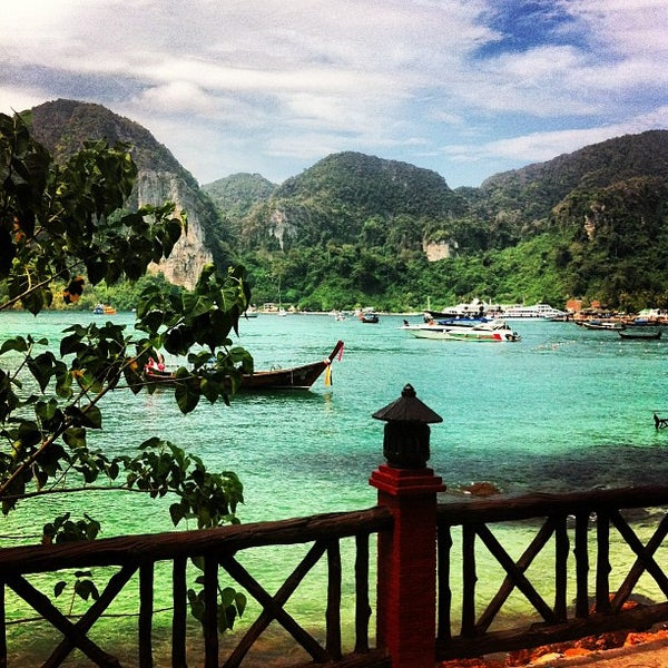 Photo taken at Phi Phi Island by Alex M. on 2/26/2013
