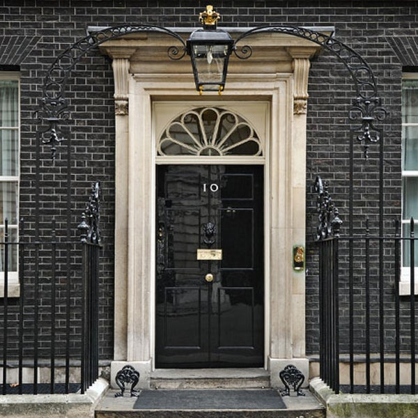 Photo taken at 10 Downing Street by CaЯToon D. on 4/12/2013