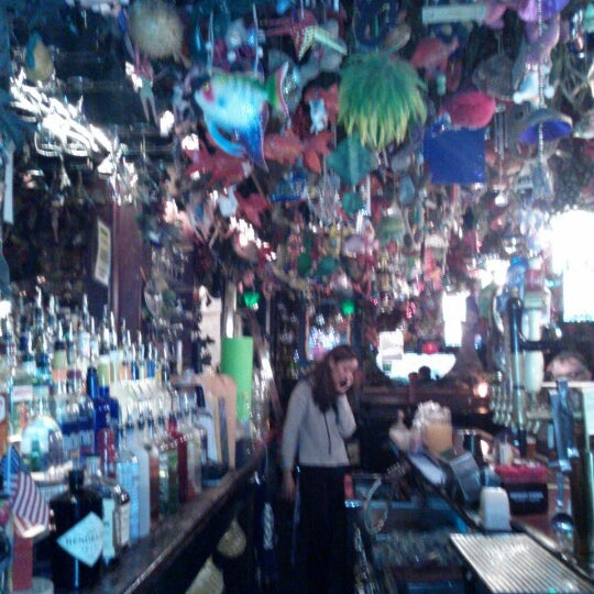 Photo taken at The Cubbyhole Bar by Elizabeth S. on 1/29/2013