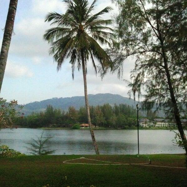 Photo taken at Dusit Thani Laguna Phuket by Alexey L. on 3/19/2013