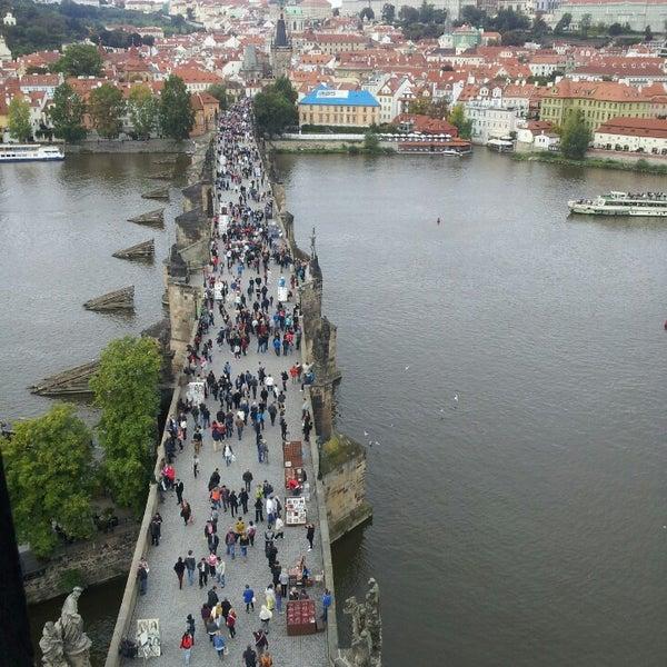 Photo taken at Karlův most | Charles Bridge by Юленька ♔ on 9/22/2013
