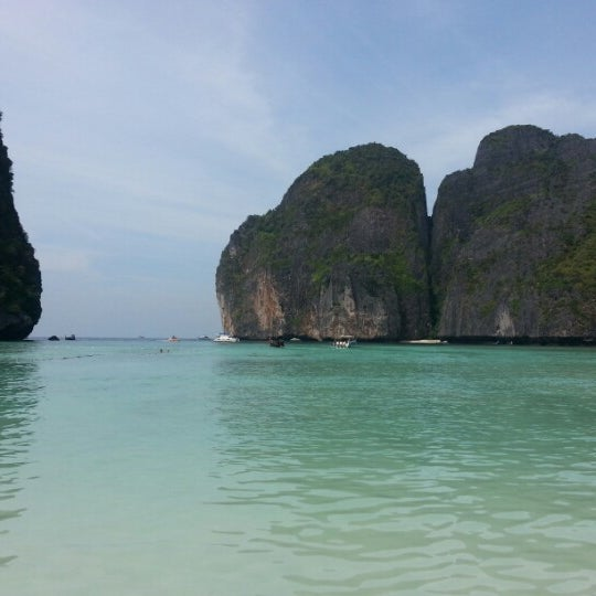 Photo taken at Phi Phi Island by Игорь К. on 1/7/2013