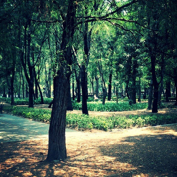 Photo taken at Bosque de Chapultepec by César S. on 5/31/2013