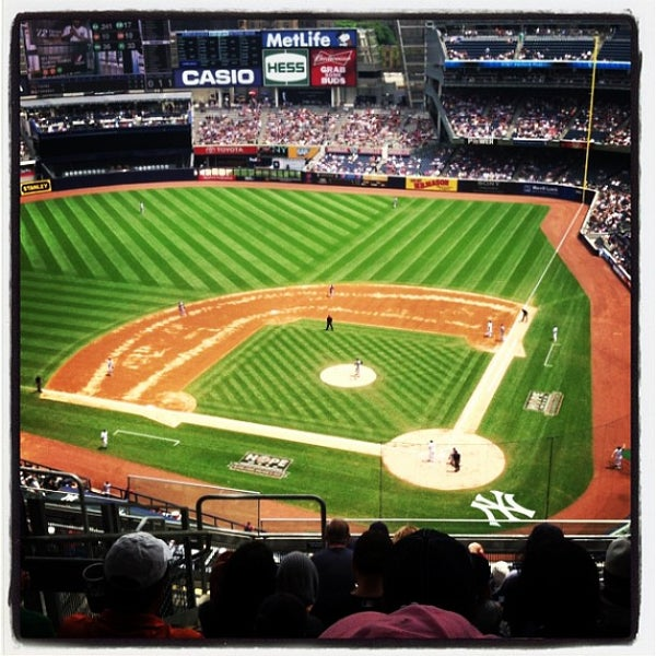 Photo taken at Yankee Stadium by Pat M. on 7/13/2013