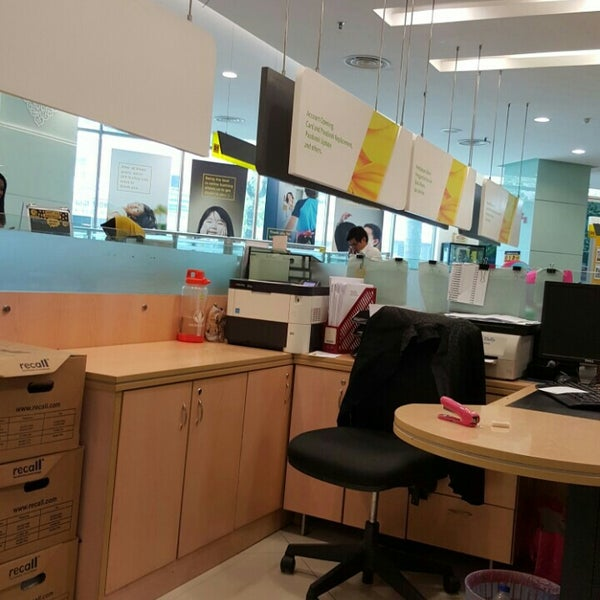 Photo taken at Maybank by Aaron A. on 9/22/2015