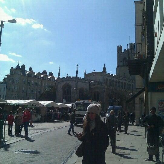 Photo taken at Cambridge Market by Romana š. on 4/2/2013