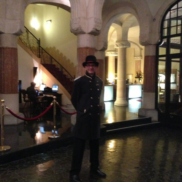 Photo taken at Hotel Casa Fuster by Özden D. on 1/28/2014