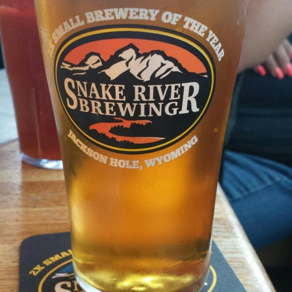 Photo taken at Snake River Brewery & Restaurant by Mark N. on 8/7/2016