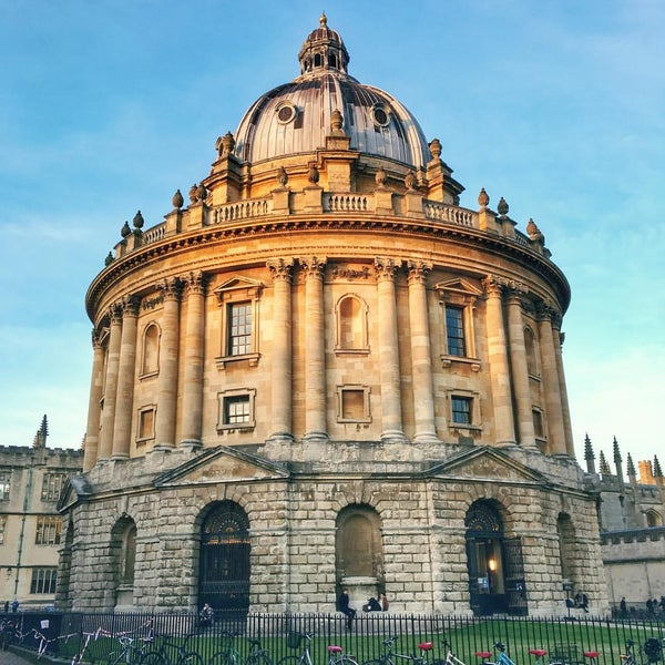 Photo taken at Radcliffe Camera by Ricardo S. on 11/2/2016