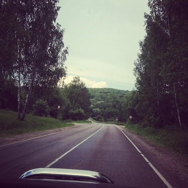 Photo taken at Пущино by Olga B. on 6/9/2013