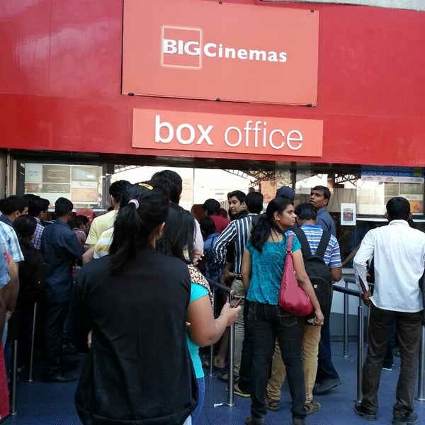 Photo taken at Big Cinemas by Abhinav R. on 12/22/2013