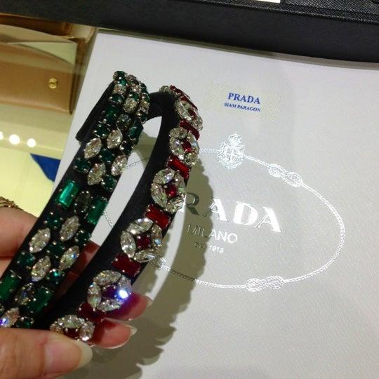 Photo taken at Prada by Verutai L. on 12/30/2012