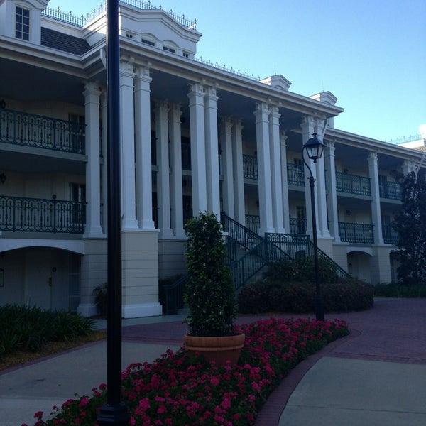 Photo taken at Disney's Port Orleans Riverside Resort by Kristen B. on 3/19/2013