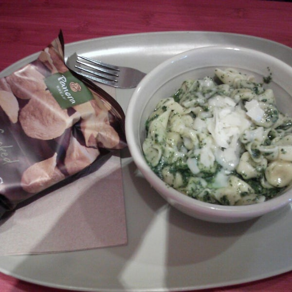 Photo taken at Panera Bread by Emily H. on 4/14/2013