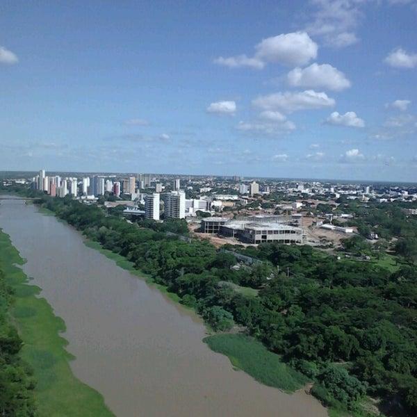 Photo taken at Ponte Estaiada by Junior P. on 5/4/2013