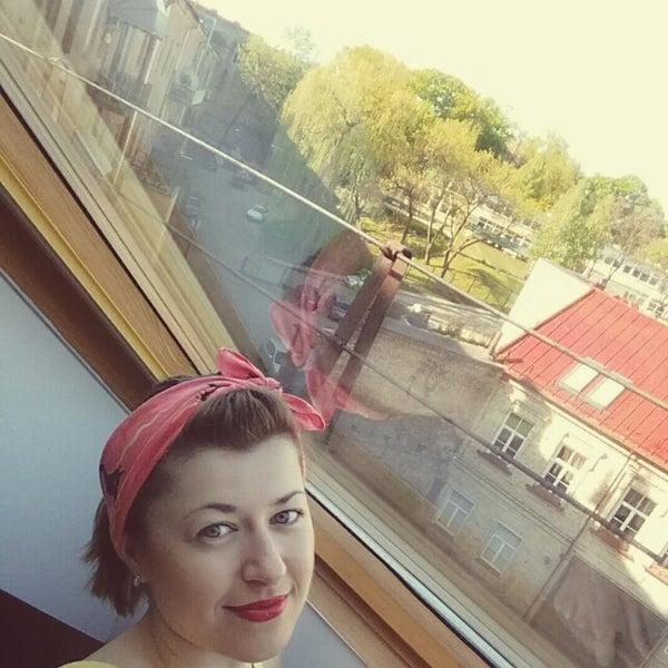 Photo taken at Comfort Hotel Vilnius by Наталья Ш. on 5/10/2015