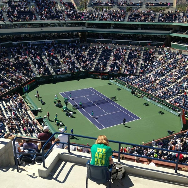 Photo taken at Indian Wells Tennis Garden by Guilherme B. on 3/12/2013