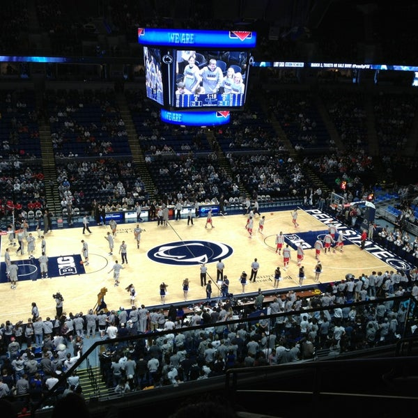 Photo taken at Bryce Jordan Center by Chris G. on 1/26/2013