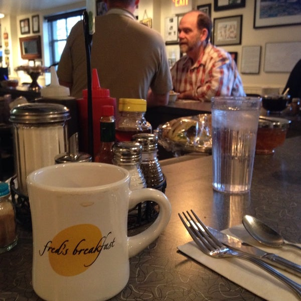 Photo taken at Fred's Breakfast by Rob B. on 12/9/2013