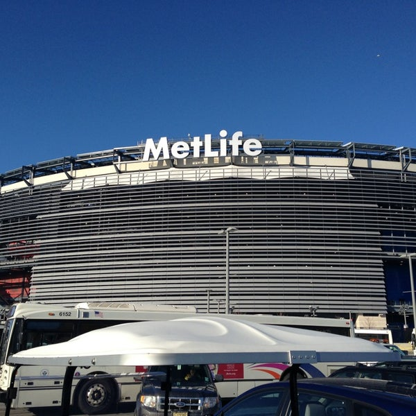 Photo taken at MetLife Stadium by Oscar S. on 12/30/2012
