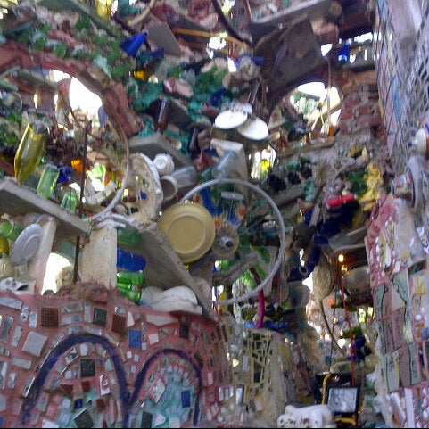 Photo taken at Philadelphia's Magic Gardens by Matt F. on 3/9/2013