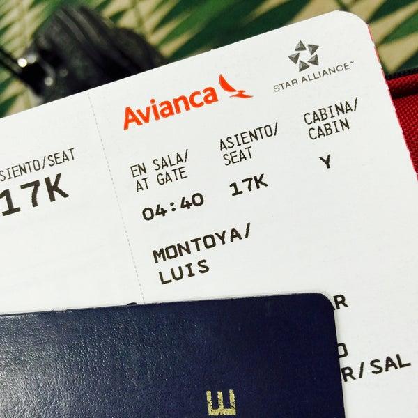 Photo taken at Gate 5 Aeropuerto Internacional Juan Santamaria by Alejandro M. on 3/18/2016