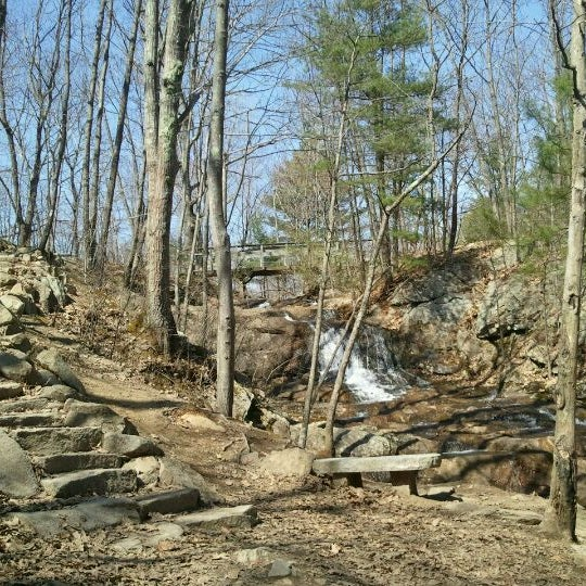 Photo taken at Jewell Falls by Bryan M. on 4/13/2012