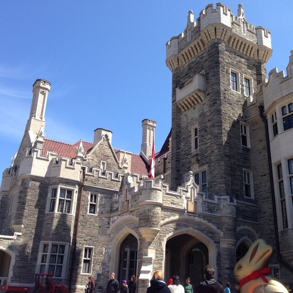 Photo taken at Casa Loma by John Paul I. on 4/20/2014