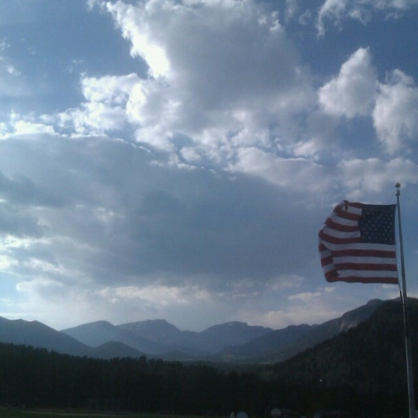 Photo taken at YMCA of the Rockies by Kyle M. on 7/22/2013
