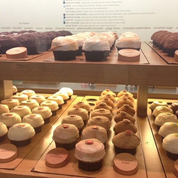Photo taken at Sprinkles Cupcakes by Chelsea K. on 1/21/2013