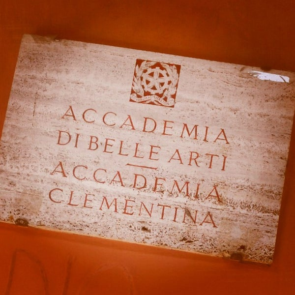 Photo taken at Accademia delle Belle Arti by Paolo P. on 9/10/2014
