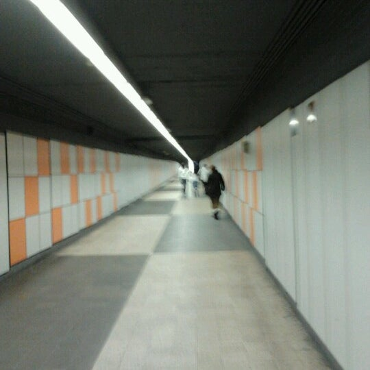 Photo taken at METRO Plaça de Sants by Xavier R. on 1/5/2013