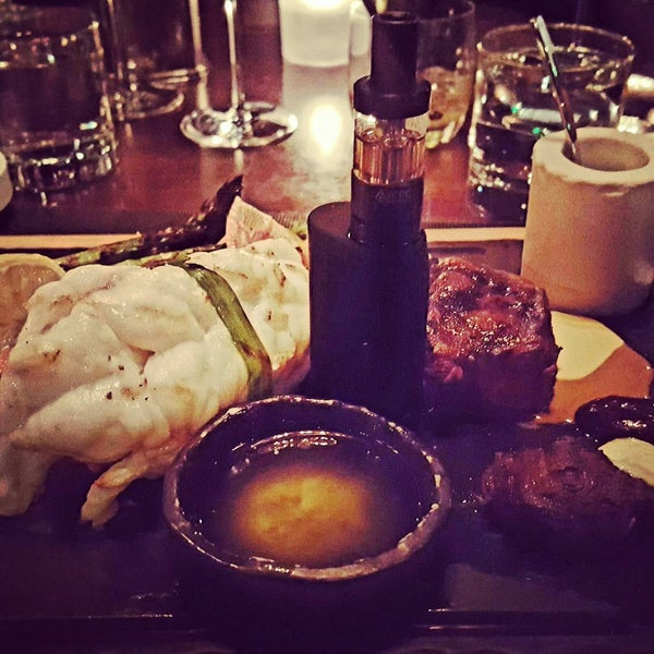 Photo taken at Jean Georges Steakhouse by Gaz H. on 2/6/2016