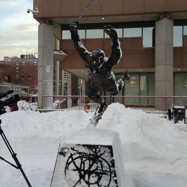Bobby Orr Statue Td Garden Downtown Boston Boston Ma