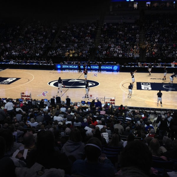 Photo taken at Bryce Jordan Center by Allen P. on 3/25/2014