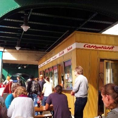Photo taken at Konnopke's Imbiß by Splintered ✴ on 9/26/2012