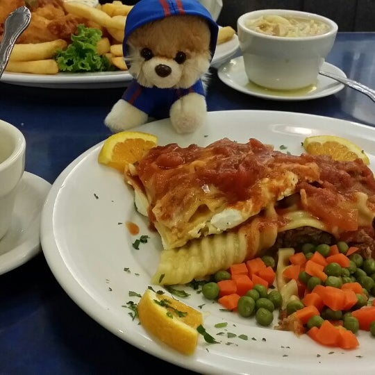 Photo taken at Skylight Diner by Tinuviel on 10/10/2013